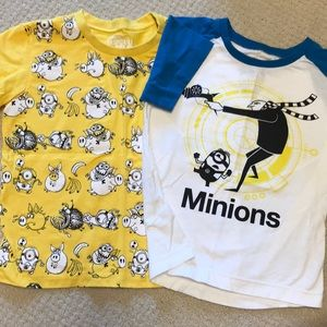 NWOT 2 pack minions tees